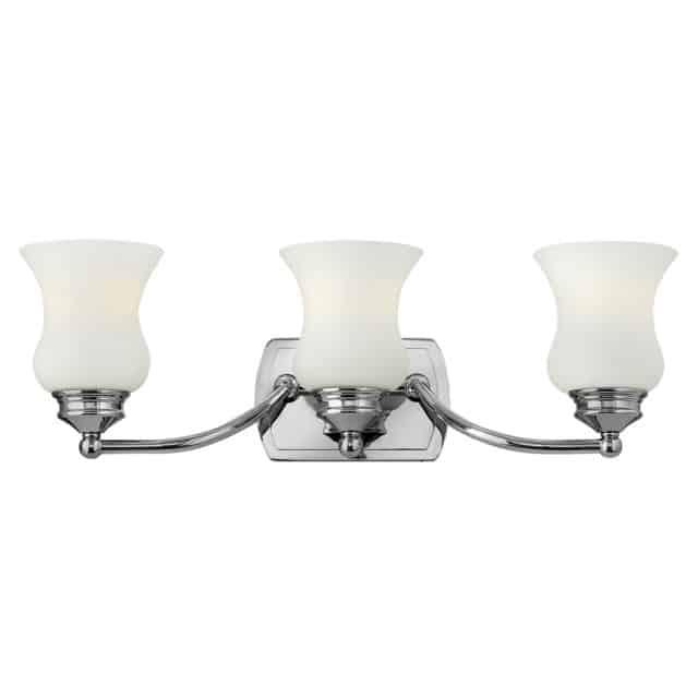 Klassinen kylpyhuoneen valaisin 3 lampulla