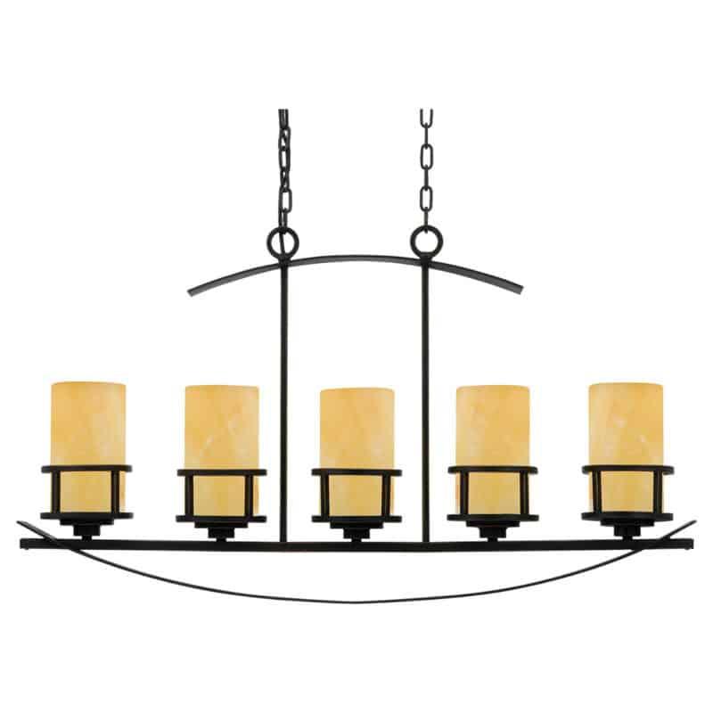 Kynttilävalaisin pöydän päälle