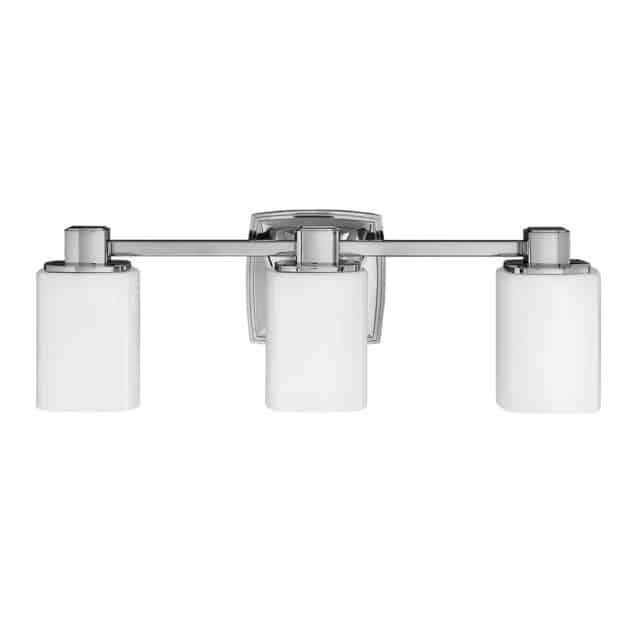 Kylpyhuonevalaisin kolmella valolla