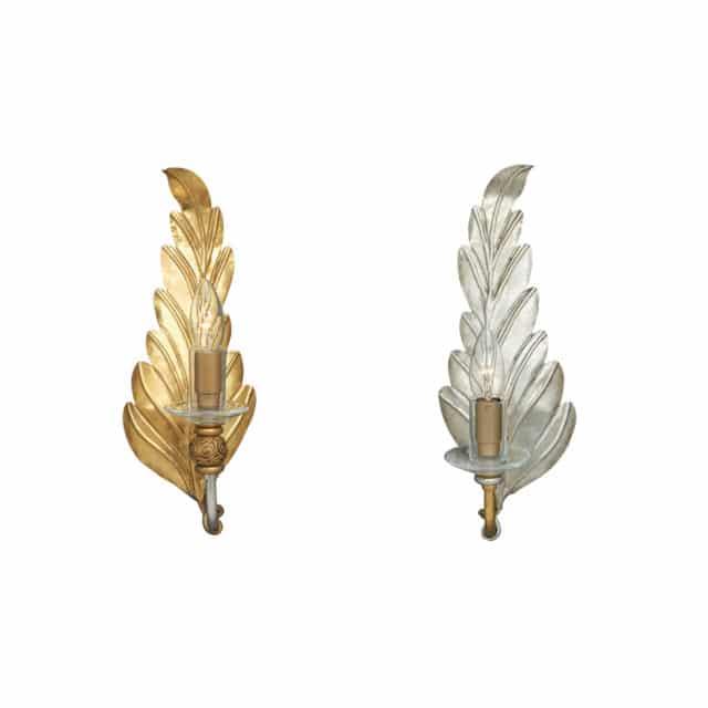 Seinälampetti hopea tai kulta