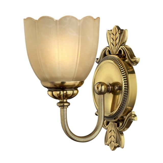 Tulppaanimallinen kosteantilan valaisin