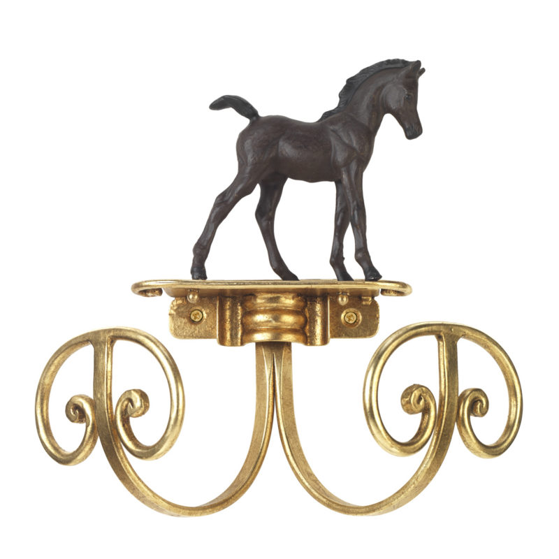 Vaatekoukku hevonen